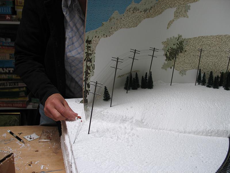 Winter Construction Melissalevinartist